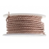 Twisted Artistic Wire 2Yd 18ga Rose Gold Color Spool